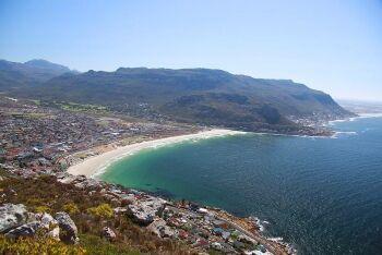 Fish Hoek from Elsie's Peak, Cape Town
